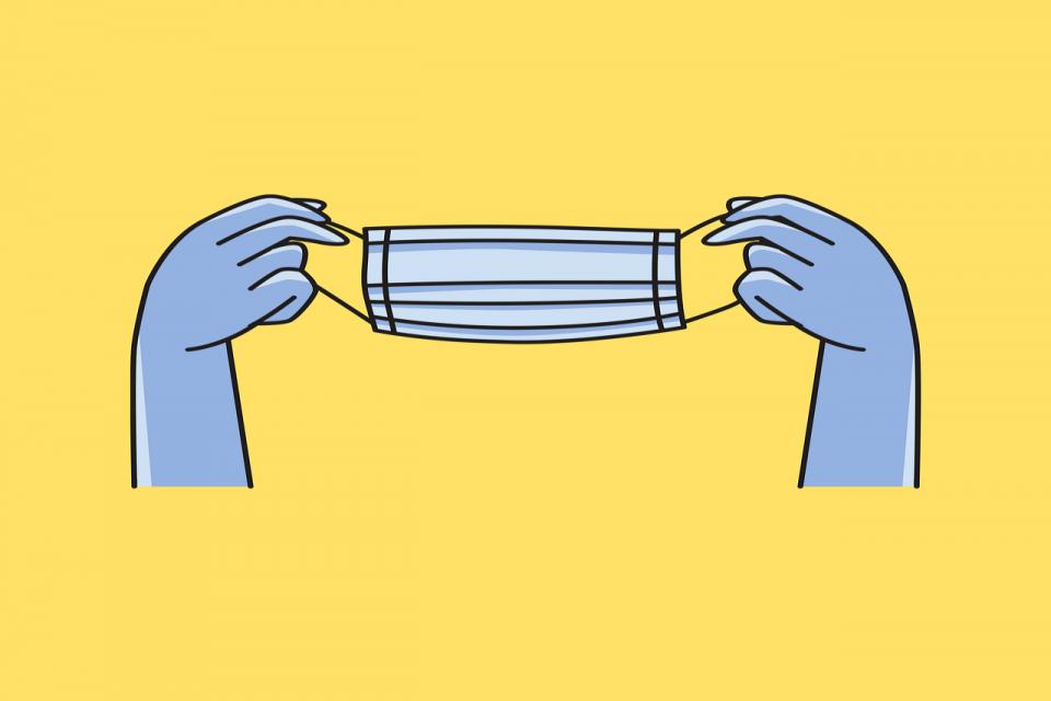 Noszenie maseczek