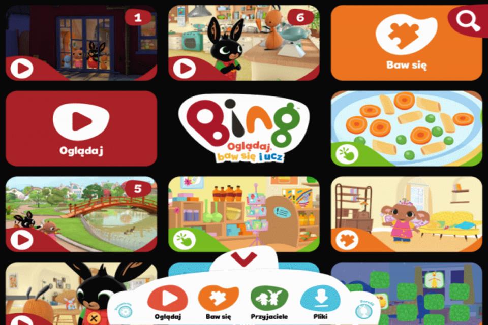 Aplikacja Binga